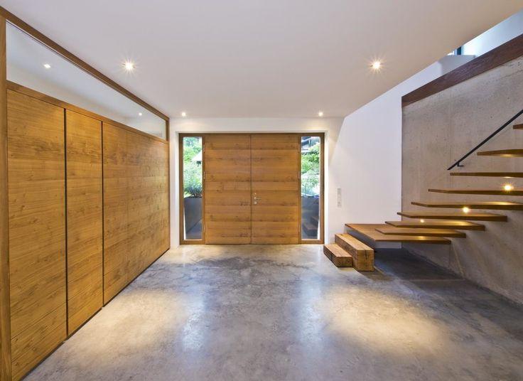 Garten Klapptisch Holz Im Modern Eingang Mit Schlsselfertig Bauen Und  Floating Staircase