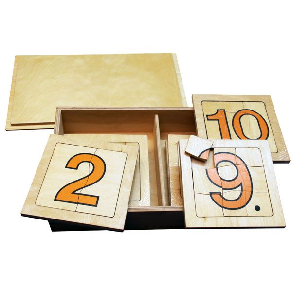 1 to 10 Number Puzzles