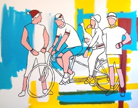 Tandem vélo et duck - 2011