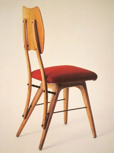 Carlo Mollino | contemporary chair | mobilier moderne | イタリアの椅子 | chaise moderne | sedia moderna |