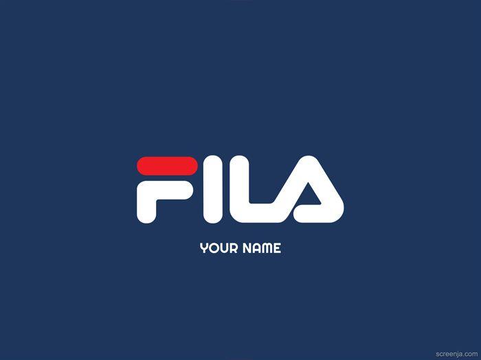 Logo Fila 2019 Wallpaper Wallpapershd Wallpaper4k Fila Logo