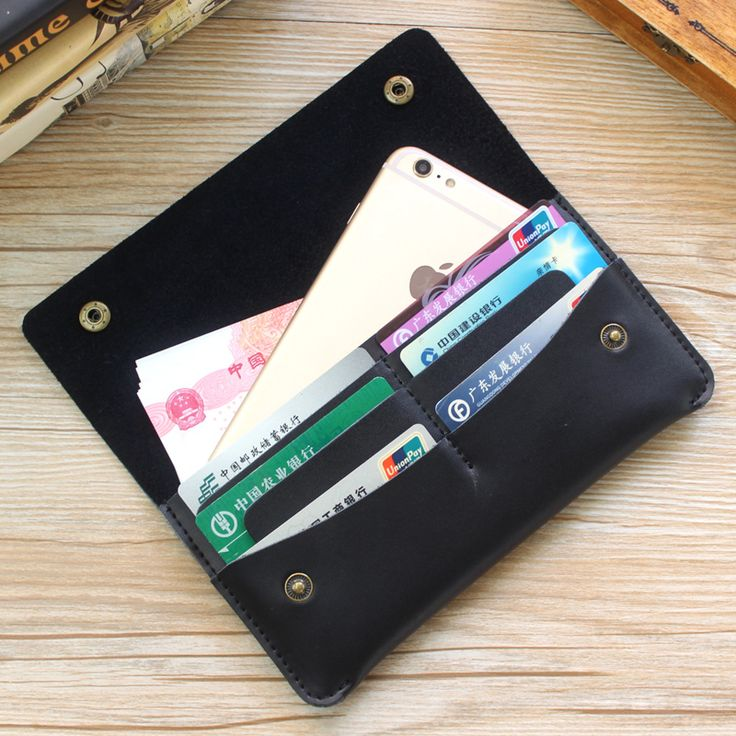 Men's Cow Leather Wallet Restoring Ancient Ways Contracted Thin Mobile Phone Clasp Hand Bag Card Bag Genuine Leather Wallet