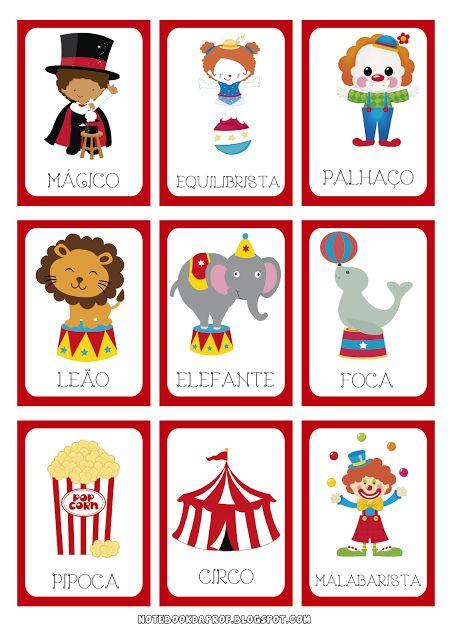 Jogo da Memória Dia do Circo