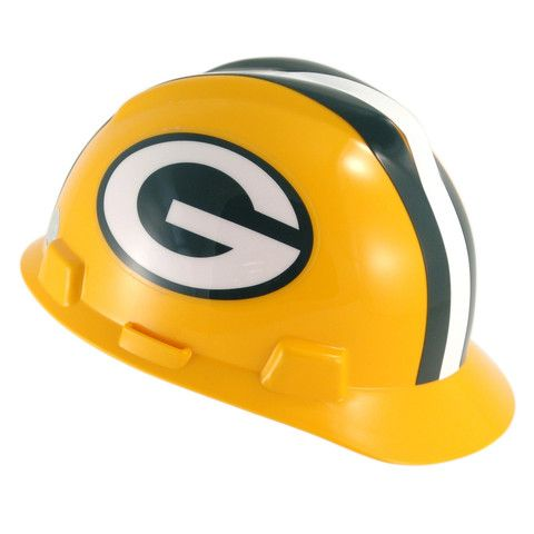 Green Bay Packers Multi-Sport Hard Hat #GreenBay #Wisconsin #Packers #Memorabilia #Sports #Merchandise #Football #NFL | Order Today At http://www.sportsnutemporium.com/ For Only $21.50