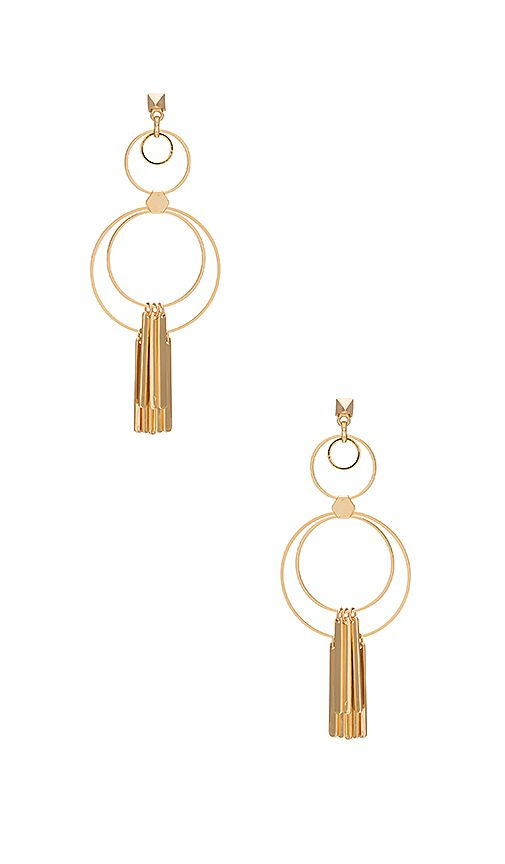 Shop for Ettika Multi Circle Earring with Fringe Bars in Gold at REVOLVE. Free 2-3 day shipping and returns, 30 day price match guarantee.