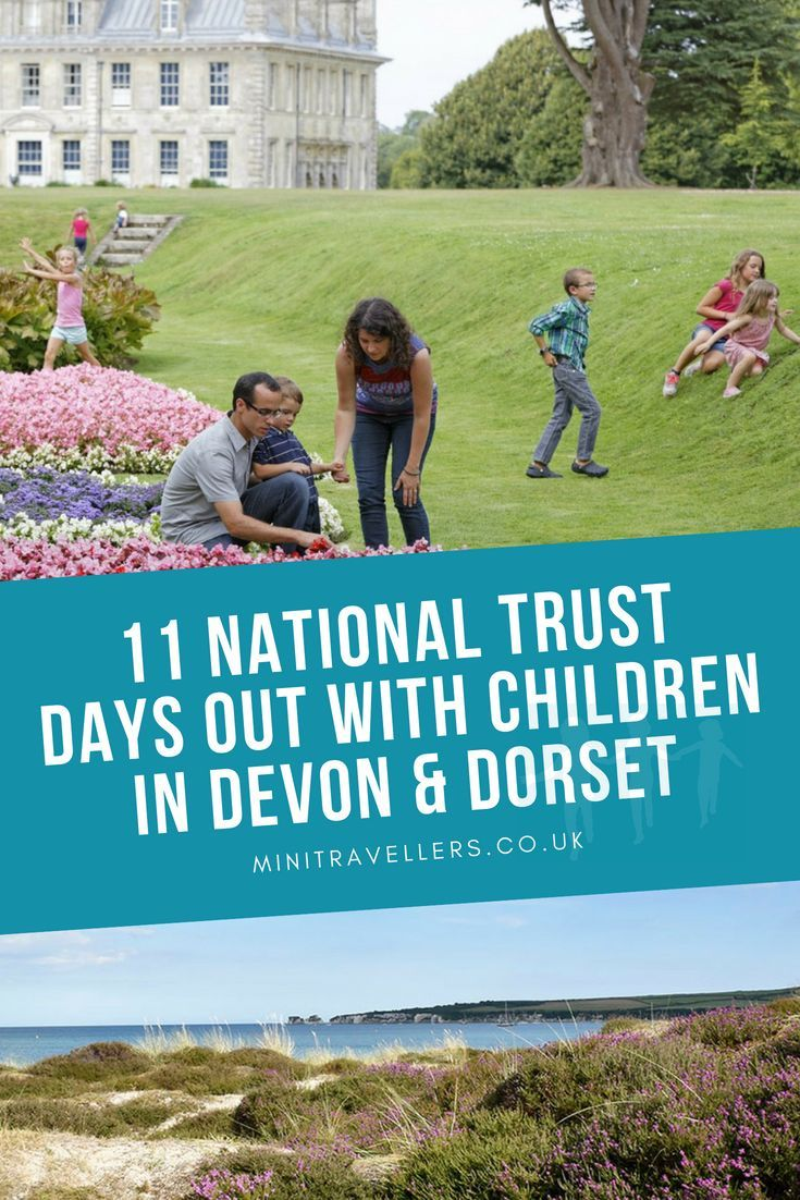 National Trust Days Out In Devon Dorset With Children Mini