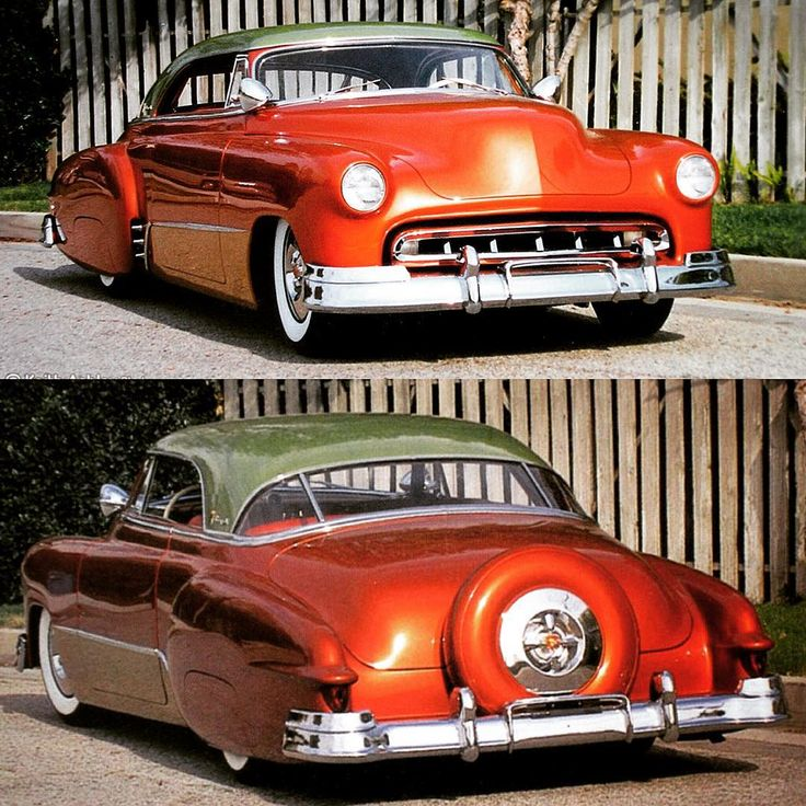 A real kustom  #chopped #hotrod #kustom #leadsled