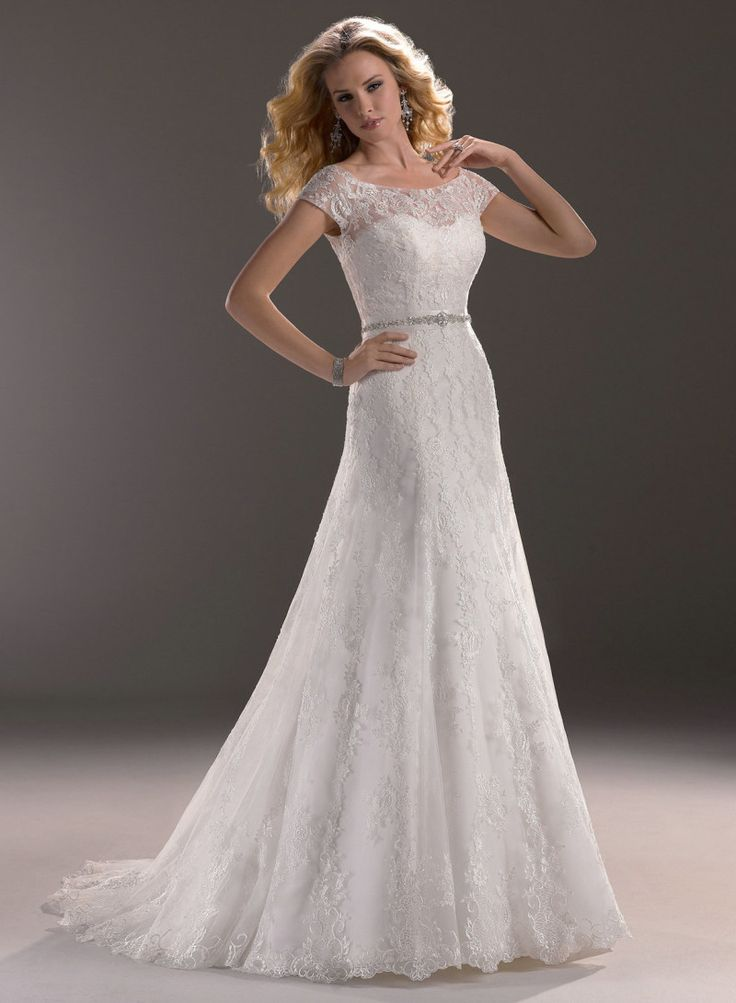 A Line Wedding Dresses Sweetheart Neckline