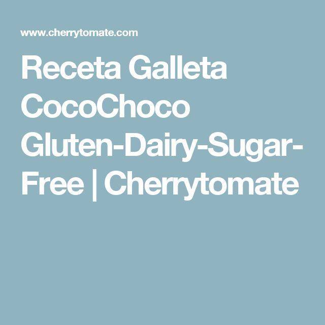 Receta Galleta CocoChoco Gluten-Dairy-Sugar-Free | Cherrytomate