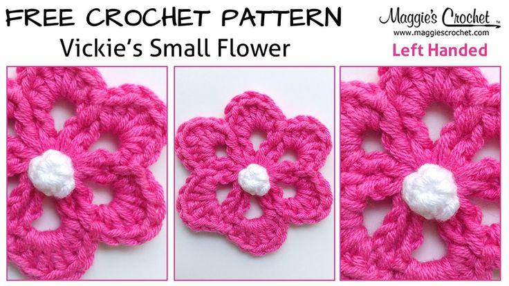313 best FREE Videos (Left Handed) - Crochet Patterns! images on ...