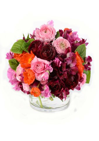 POSY IN GLASS VASE WEDNESDAY THE 20TH OF NOVEMBER 2013 11AM-2PM MUM AND BUBS