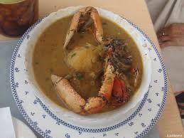 caldo de cangrejo