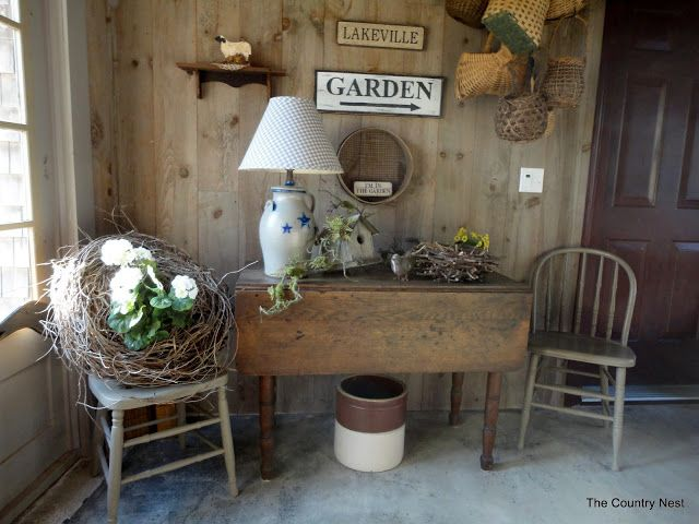 country home decorating blogs the country nest primitive for the home 10668