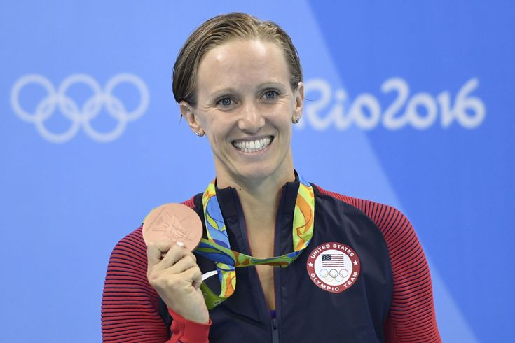 Five-time Olympic gold medalist Dana Vollmer is six months pregnant, but that won't stop her from competing in a USA Swimming Pro Series later this month.   Vollmer, 29, announced in an Instagram post on Thursday that she will race in the 50-meter freestyle at the Skyline Aquatic Center in Mesa, Ariz.