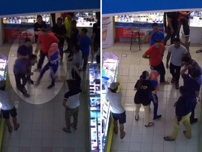 Penagih dadah cuba rogol wanita dalam tandas shopping mall di Alor Setar di belasah   SEORANG lelaki dipercayai penagih dadah dibelasah orang awam selepas dikatakan cuba merogol seorang wanita di dalam tandas sebuah sebuah pusat membeli belah di Alor Setar Kedah.  Menerusi perkongsian Jimmy Kek di Facebook dia memuat naik dua video memaparkan suspek dipukul orang awam dan mangsa selepas niat jahatnya berjaya dikesan wanita tersebut.  Seorang lelaki ditahan orang ramai dikatakan cubaan…