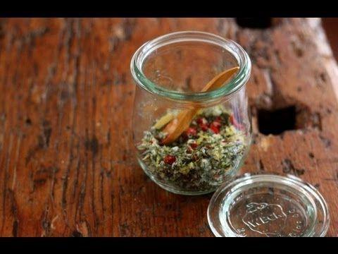 Cómo hacer tu Sal Dietética (para sustituir la sal común) HD