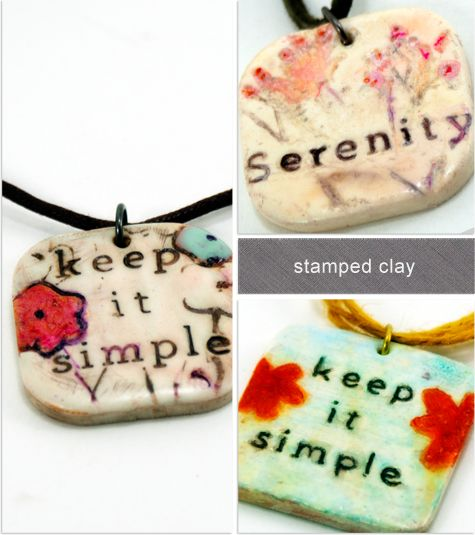 Polymer Clay Pendants {Inspired} DIY... http://savedbylovecreations.com/2012/03/polymer-clay-pendants-inspired.html