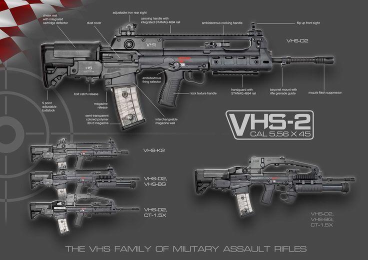 Семейство винтовок VHS-2 hs-produkt.hr - Хорватская армия получит новые…