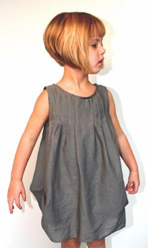 little girl short classic bob haircut                              …