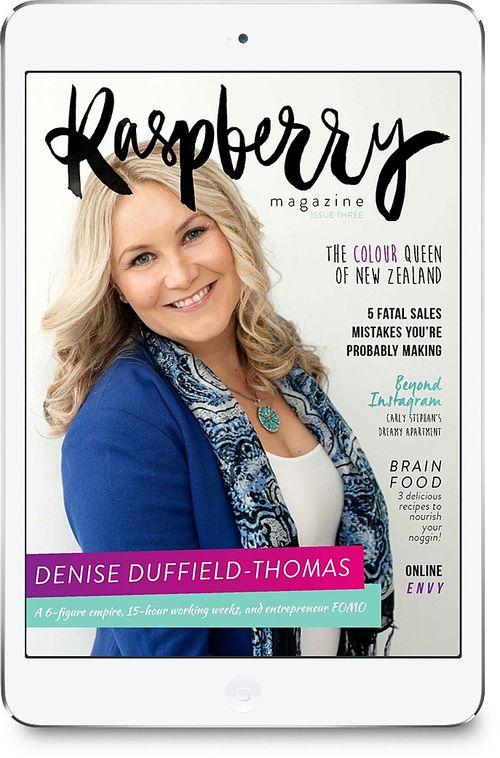 Issue Three of Raspberry Magazine!