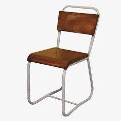 Vintage Iron Hospital Chair, 1970s 2