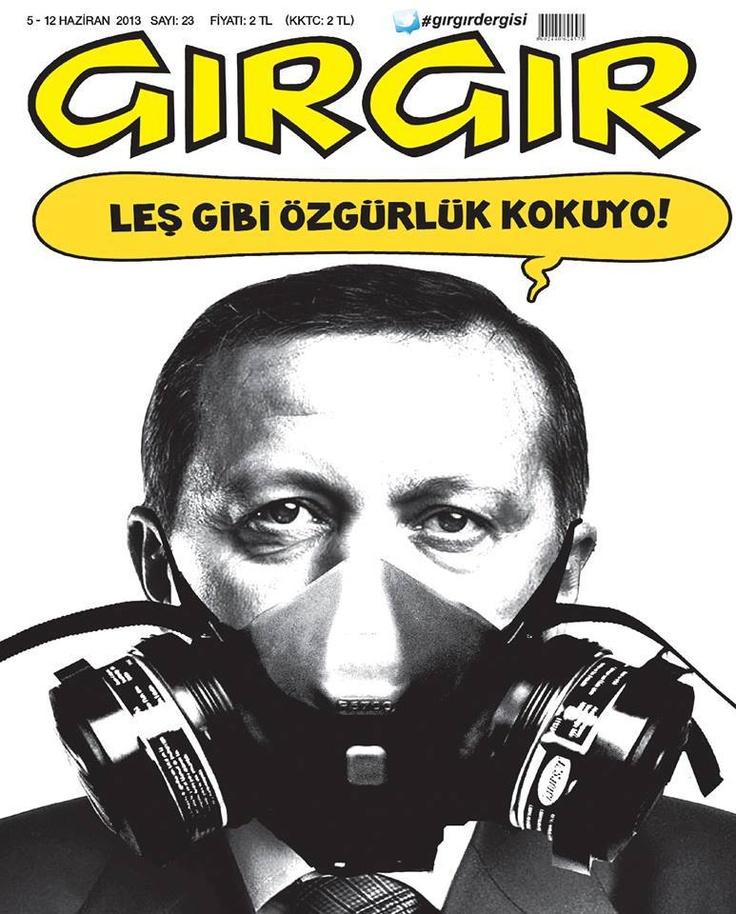 Freedom smells so bad indeed! #occupygezi #turkey #occupytaksim #direngeziparkı #occupyturkey #Chapulling #direngezi