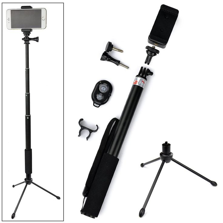 ace3c rhythm pro selfie stick monopod with mini tripod stand bluetooth remote shutter for ios. Black Bedroom Furniture Sets. Home Design Ideas