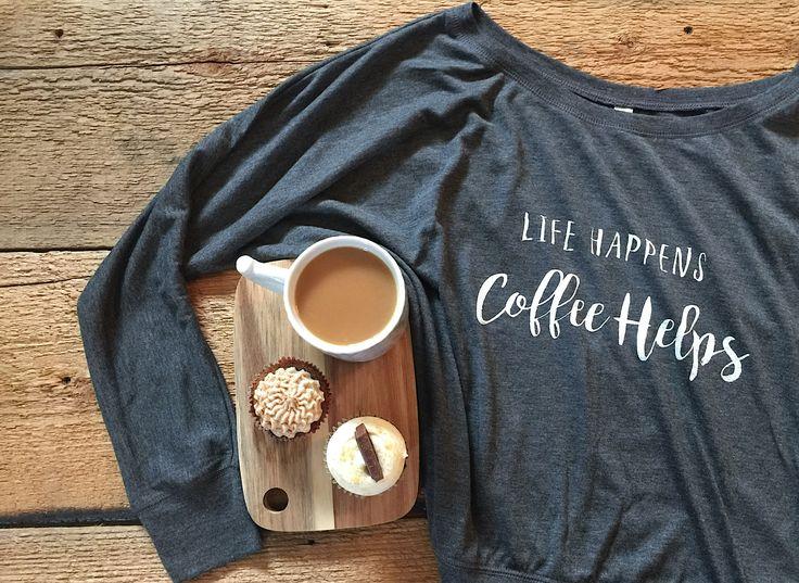 Comfy coffee Tshirt  #fashion #style #coffee #tshirt