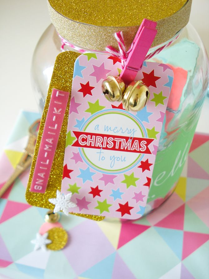 OLIVE FINCH Christmas tag.... showcased in the beautiful blog of Nadia van der Mescht