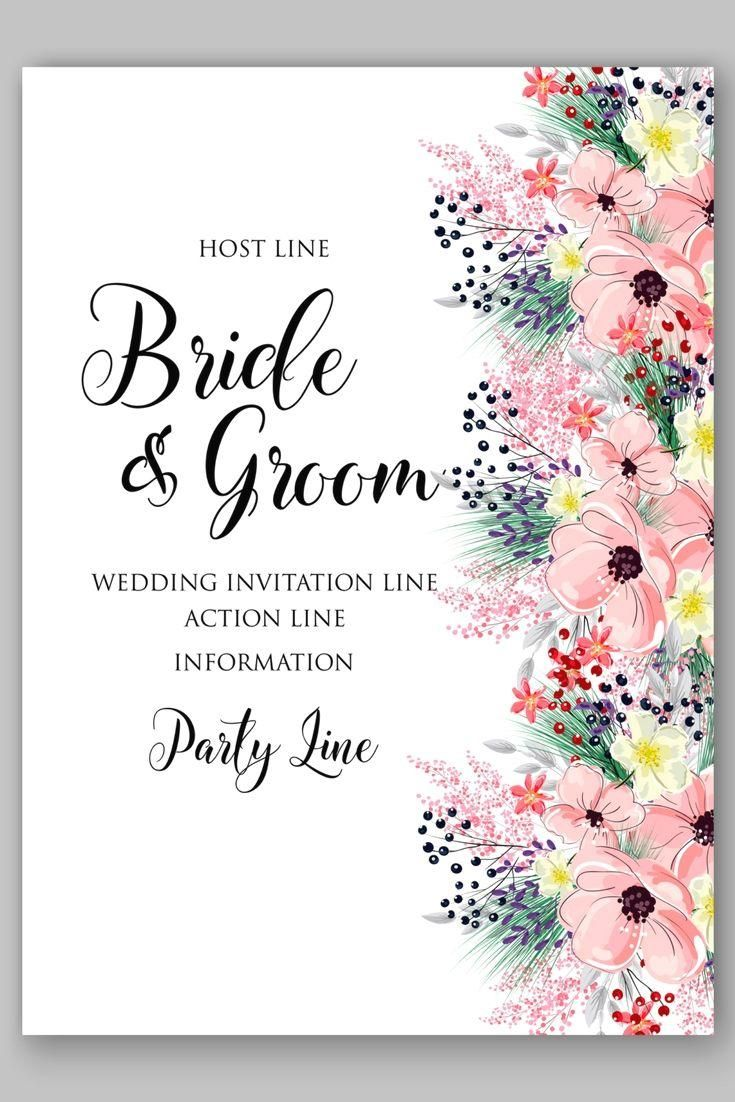 8 Personal Invitation Designs In 2020 Wedding Invitation Inspiration Popular Wedding Invitations Floral Wedding Invitations