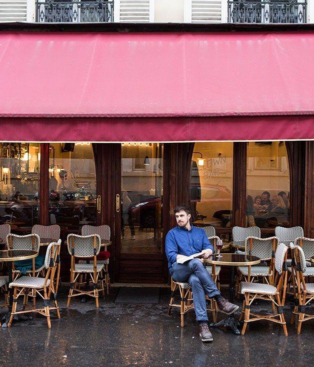 James Henry at Clown Bar in Paris #travel #drink #bars #Paris