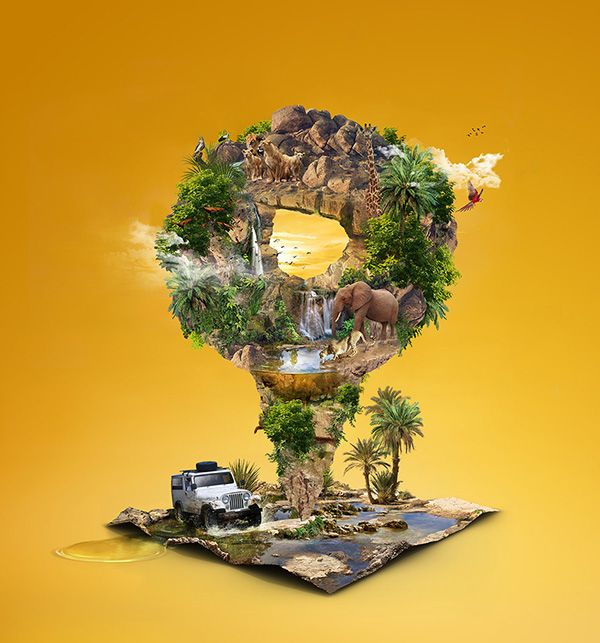 Zoo Safari on Behance