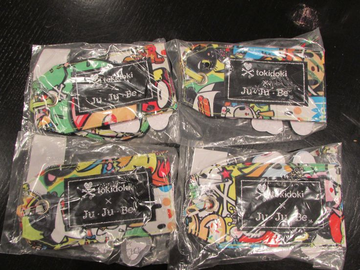 Diaper Bags 146530: Jujube Ju Ju Be Tokidoki Iconic Be Tagged Set Of 4 Nwt (A) -> BUY IT NOW ONLY: $30 on eBay!