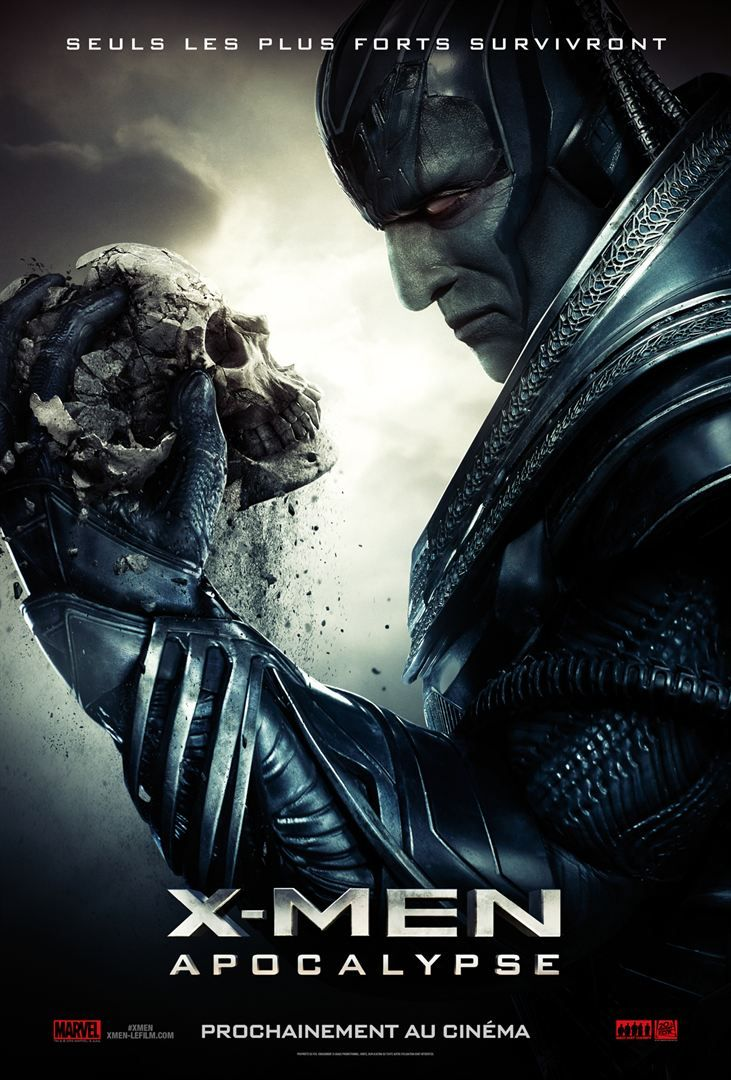 affiche du film X MEN APOCALYPSE