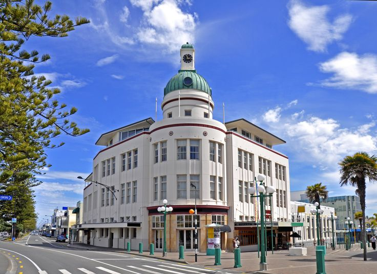 Napier, New Zealand — Hostel Rocket