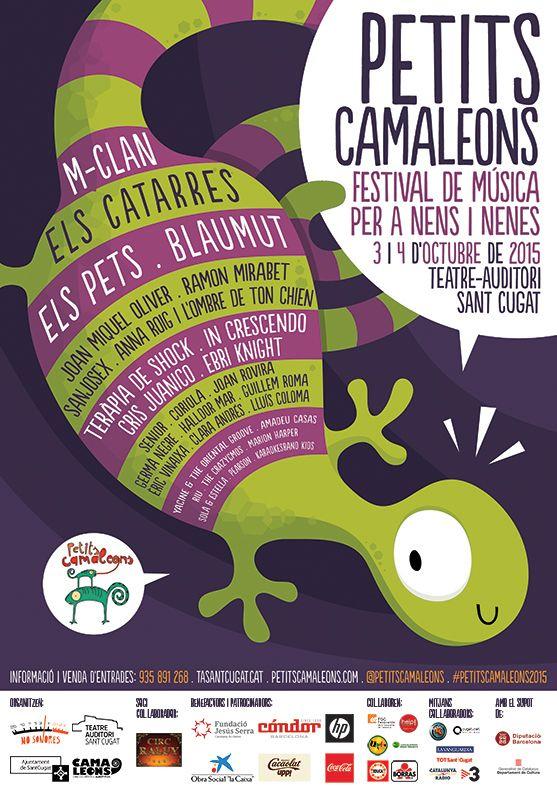 Festival Petits Camaleons. Festival de Música per a Nens i Nenes. Sant Cugat. Octubre