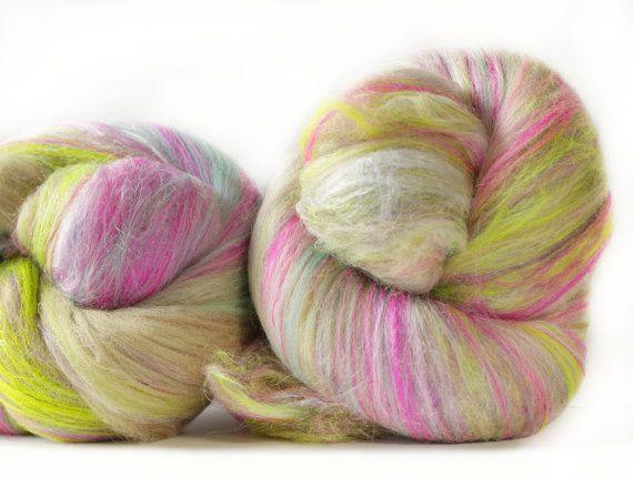 Tallahassee 3.8 oz  Wool  Targhee // Bamboo  Art by atomicblue