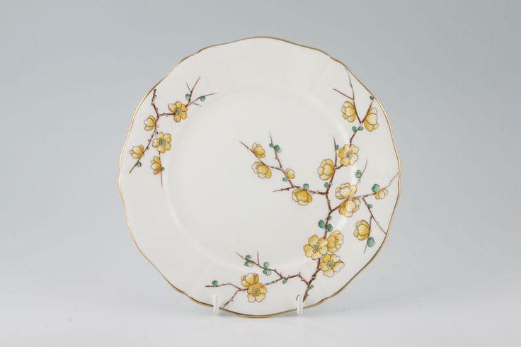 Adderley - Chinese Blossom - Yellow - Starter / Salad / Dessert Plate
