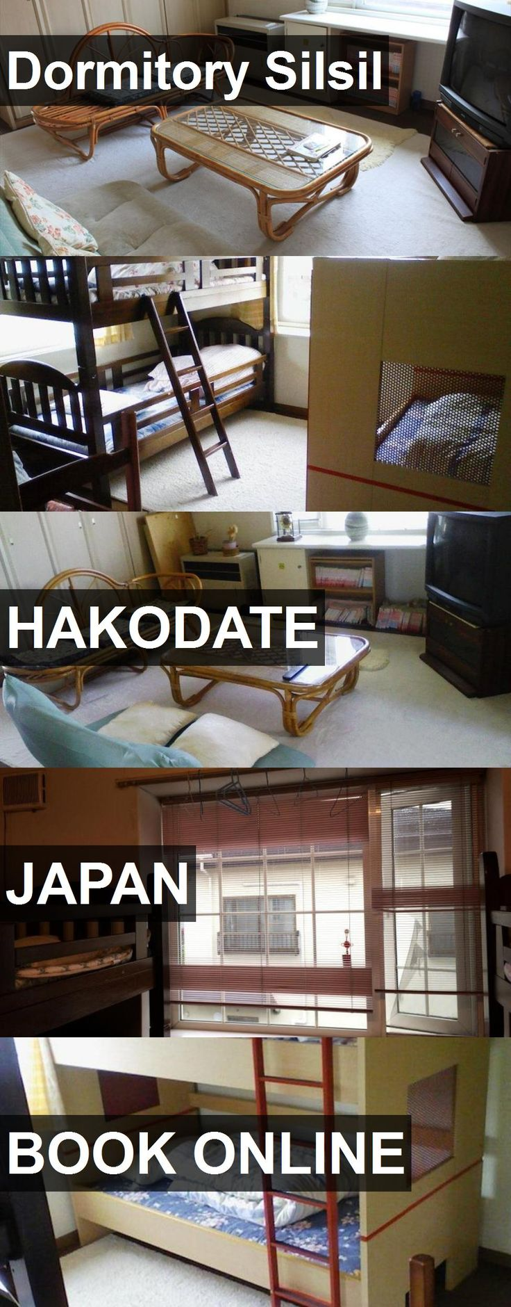 Hotel Dormitory Silsil in Hakodate, Japan. For more information, photos, reviews and best prices please follow the link. #Japan #Hakodate #travel #vacation #hotel