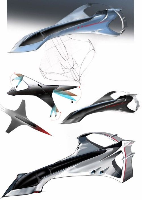 supersonic jet | Supersonic Business Jet, Futuristic Aircraft                                                                                                                                                                                 Plus