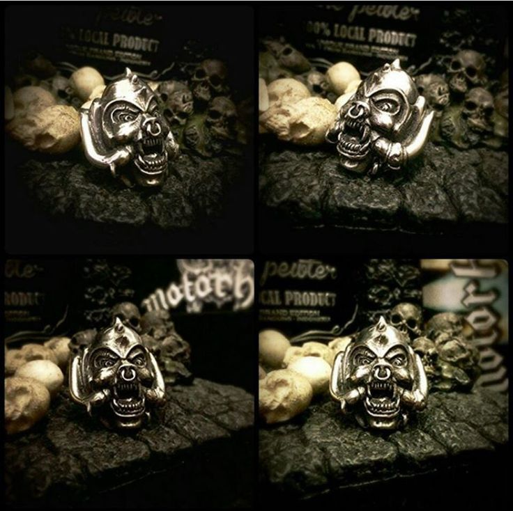 Snaggle tooth Ring  Pewter material Ready stock and ready for custom