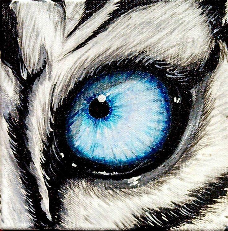 White Tiger Eye Six | SL FINE ARTS