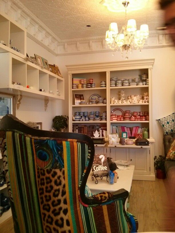 Mahalia's at Robe - famous for its coffee and my favourite armchair!