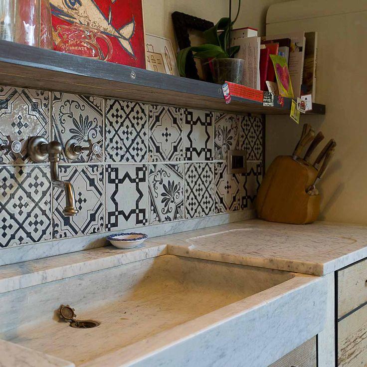 Oltre 25 fantastiche idee su cucina in marmo bianco su for Acquaio cucina