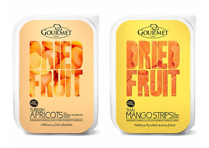 Dried Fruits | #packaging #design