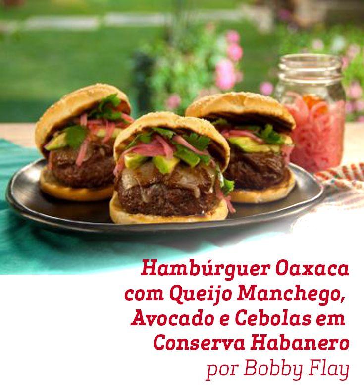 Todo o sabor da comida mexicana nesse sanduíche super original.