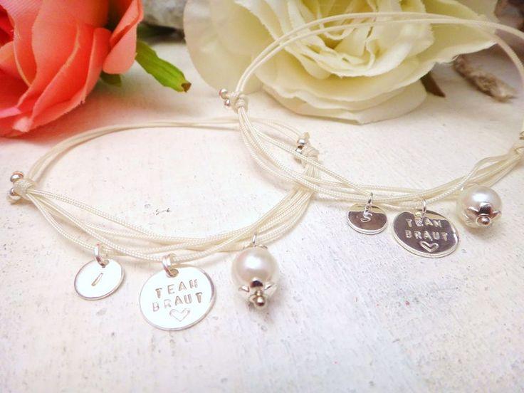 Brautschmuck armband silber  9 besten Hochzeitsschmuck Bilder auf Pinterest | Gravur, Armband ...