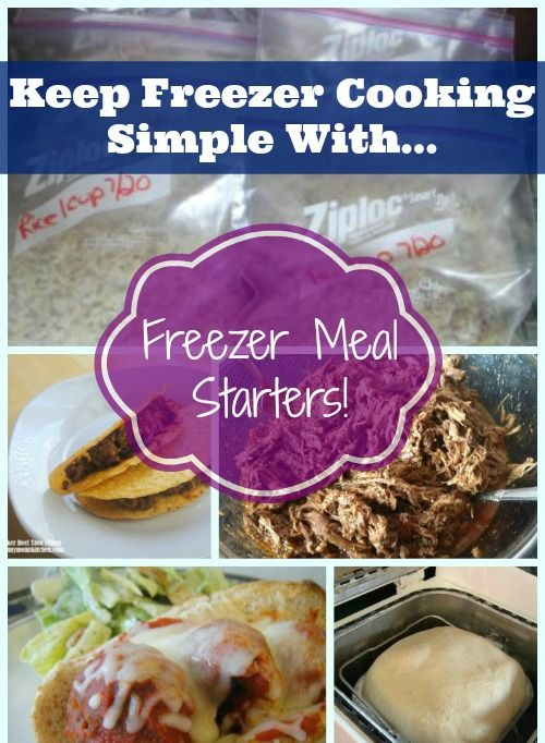 Freezer Meal Starter Recipes. Easy Freezer Recipes Round Up. Get your freezer stocked with this nice list of freezer cooking weight watchers friendly recipes.