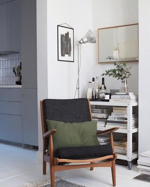 EKENÄSET Armchair Idhult black | Sofa