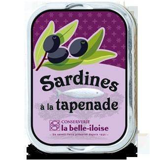 Sardines à la tapenade - Nos nouveautés - Nos nouveautés
